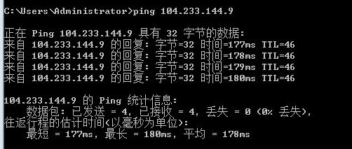 cn2线路ping值测试