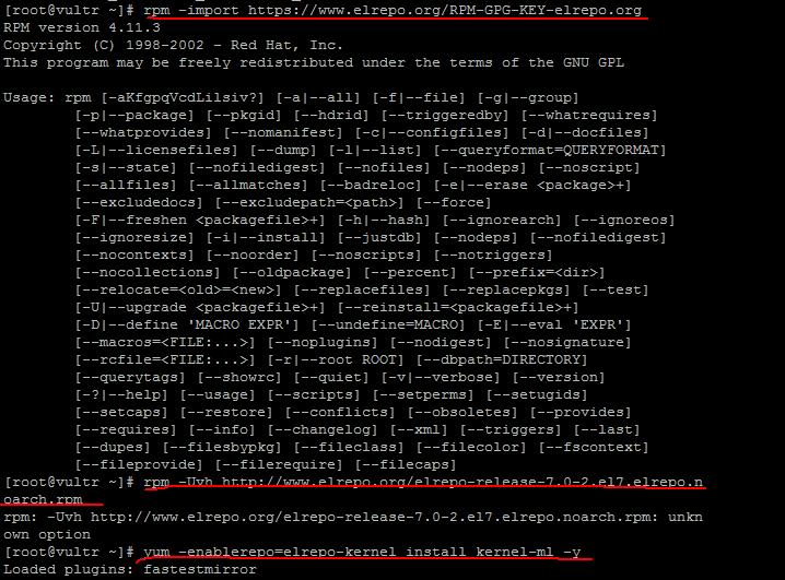 Linux系统升级内核