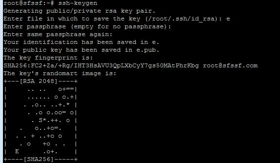centos8配置SSH秘钥