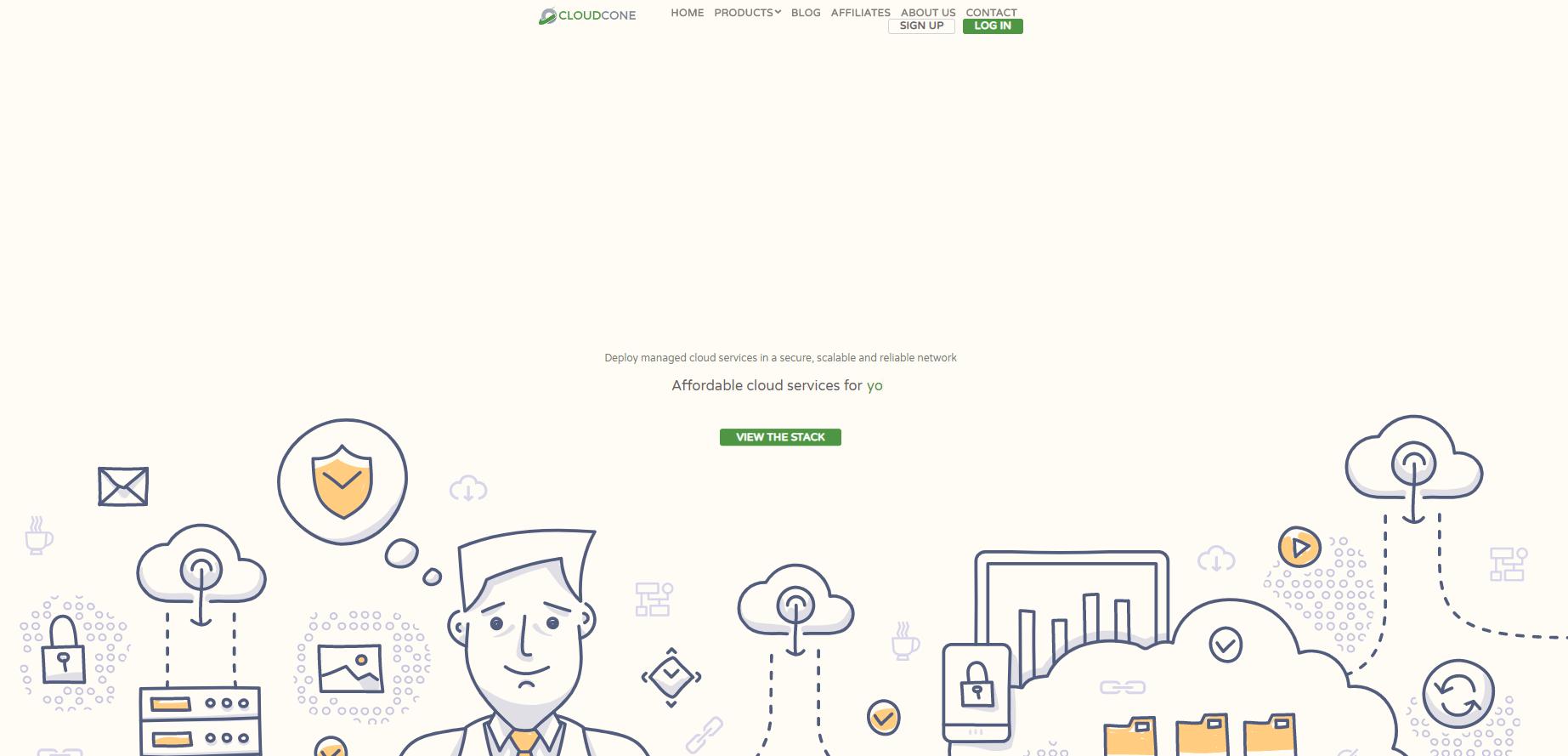 CloudCone官网首页