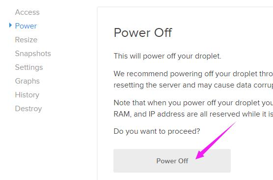 关闭云服务器VPS方案
