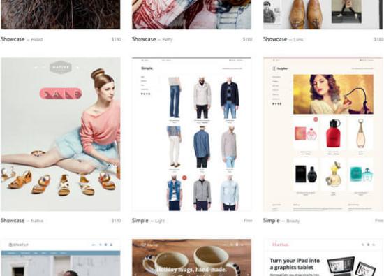shopify主题模板