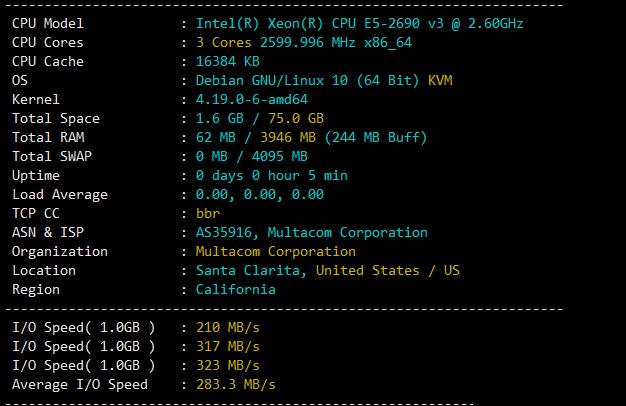 CPU、内存和I/O读写测试