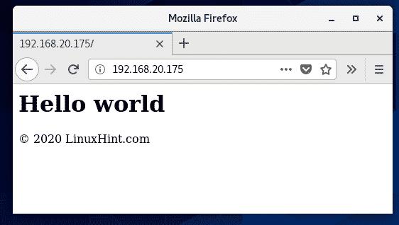 nginx服务配置完成