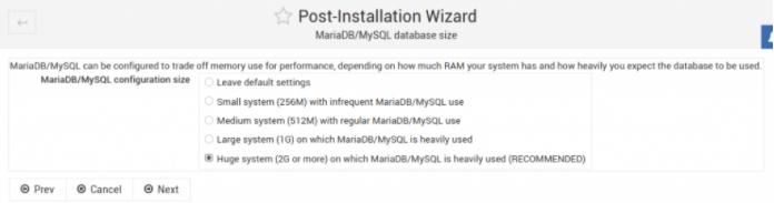MariaDB数据库大小设置