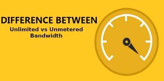 无限带宽与非计量带宽有何不同