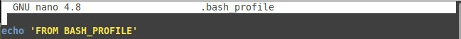 编辑.bash_profile文件