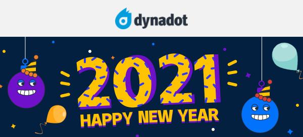 dynadot新年促销活动