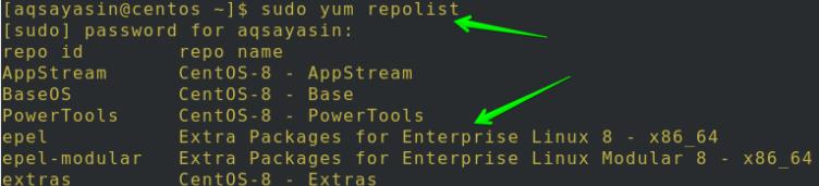 Epel存储库安装成功