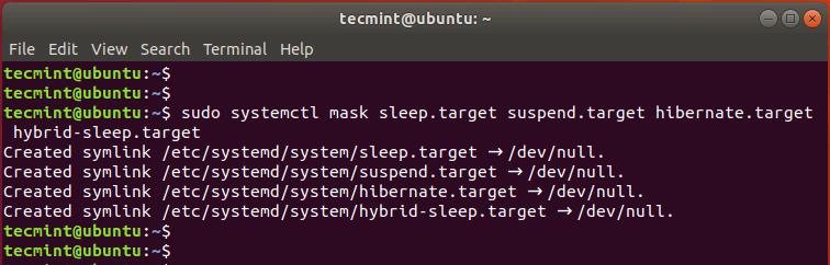 在Ubuntu中验证挂起和休眠状态