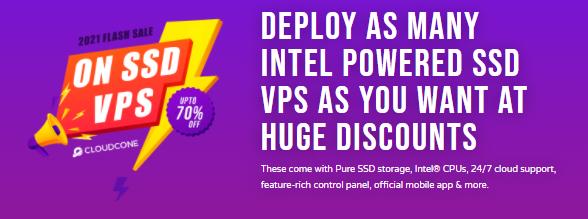 CloudCone年付周期美国VPS方案