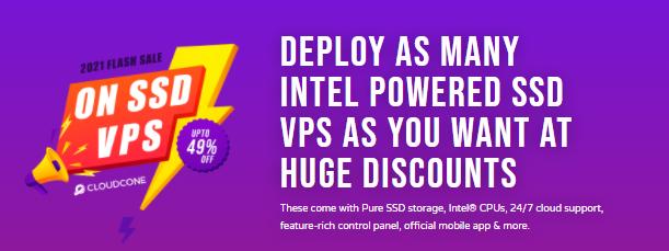 CloudCone月付周期VPS方案