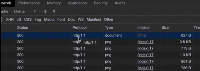 查看HTTP / 2.0服务状态
