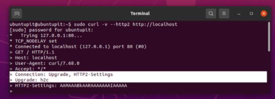 关闭HTTP / 2.0服务