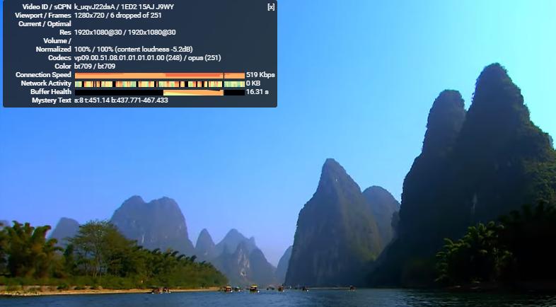 YouTube访问速度测试