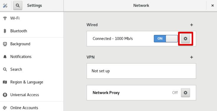 私有IP网络设置