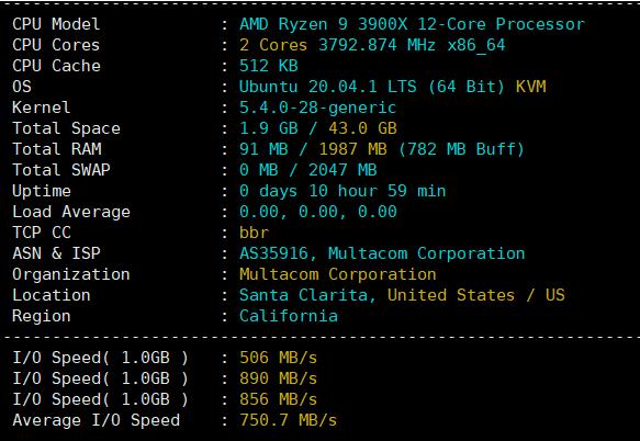 内存CPU测试
