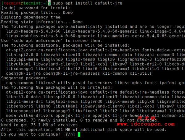 在Ubuntu中安装Java