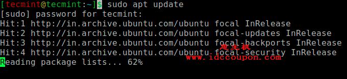 更新Ubuntu