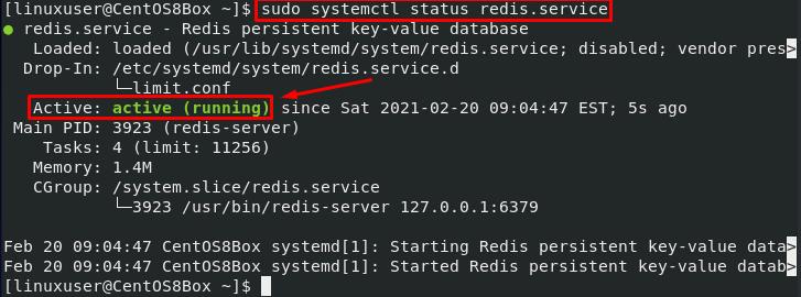 启用Redis服务