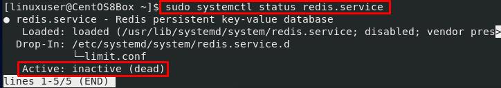 检查Redis服务状态