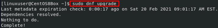 升级系统的软件包