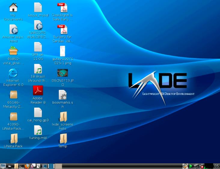 LXDE桌面环境