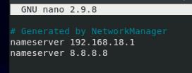 添加DNS服务器