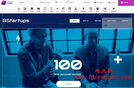 Namecheap网站建设者工具