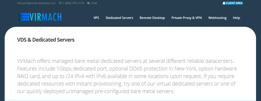 Virmach美国服务器