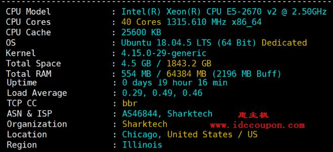 CPU、内存基本配置测试