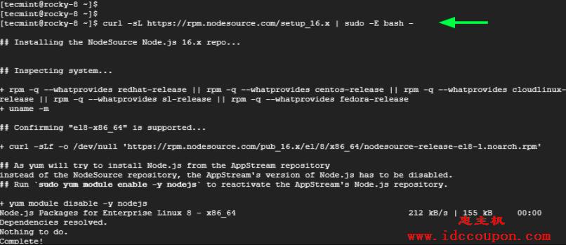 下载NodeJS安装程序