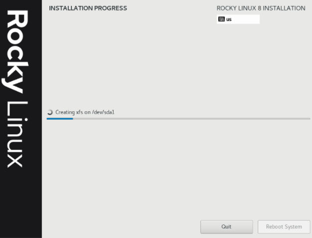 Rocky Linux 安装过程