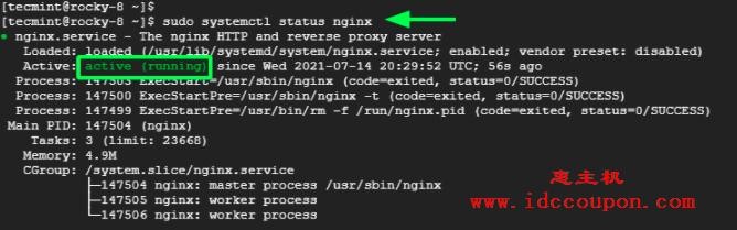 检查Nginx状态