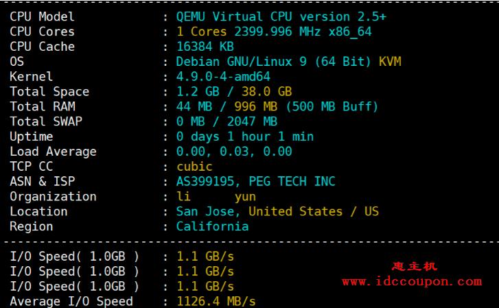 CPU、内存、I/O读写读数据测试
