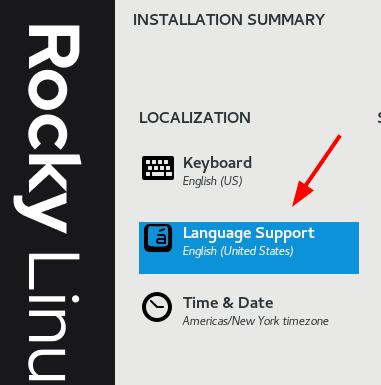 Rocky Linux 语言设置