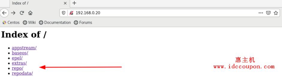 URL导航到repo列表