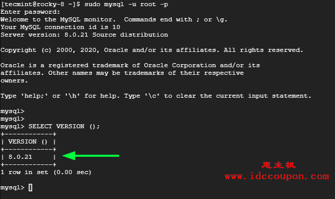连接MySQL数据库