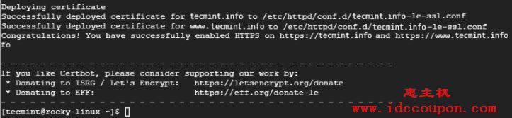 在 Rocky Linux 中为 Apache 启用 SSL
