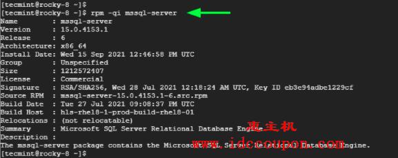 验证 Microsoft SQL Server 安装