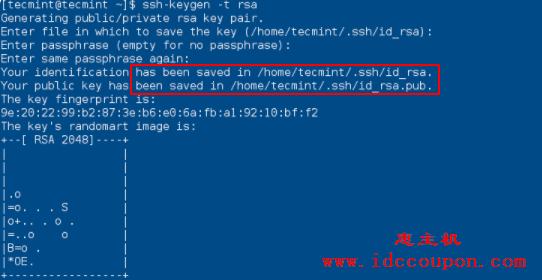 创建SSH-Keygen密钥身份验证