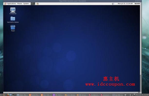VNC 远程桌面